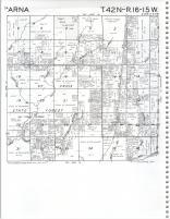 Map Image 026, Pine County 1980